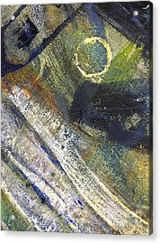 Abstract 22.2 Acrylic Print by Shelley Graham Turner