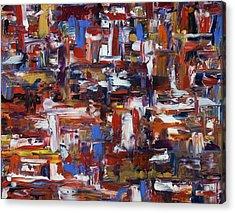 Abstract 28965 Acrylic Print by Brad Rickerby