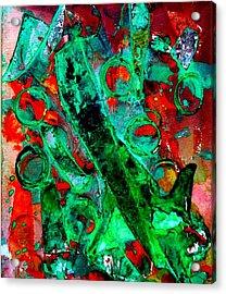 Abstract 29 Acrylic Print by John  Nolan