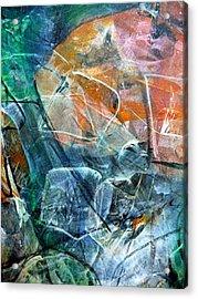 Abstract #326 - Happy Hour Acrylic Print
