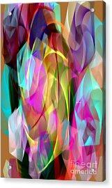 Acrylic Print featuring the digital art Abstract 3366 by Rafael Salazar