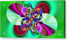 Abstract 368 Acrylic Print by Rolf Bertram