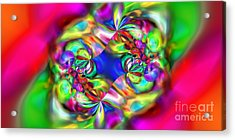 Abstract 392 Acrylic Print by Rolf Bertram