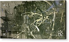 Abstract #42015 Or Lock Ness In Town Acrylic Print