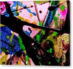 Abstract 48 Acrylic Print by John  Nolan