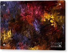 Abstract 5-23-09 Acrylic Print by David Lane