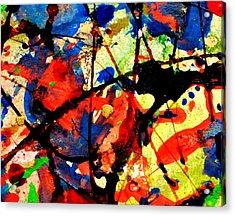 Abstract 52 Acrylic Print by John  Nolan