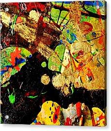 Abstract 54 Acrylic Print by John  Nolan