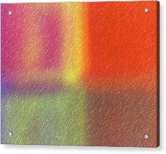 Abstract 5791 Acrylic Print