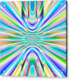 Abstract 718 Acrylic Print by Rolf Bertram