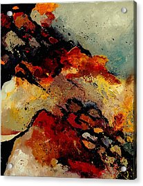 Abstract 780707 Acrylic Print by Pol Ledent