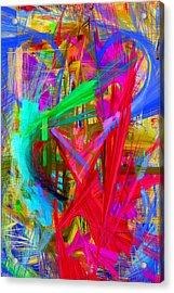 Abstract 9028 Acrylic Print