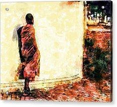 Abstract And Bold Acrylic Print