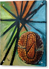 Abstract And The Armadillo Acrylic Print
