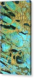 Abstract Art - Deeper Visions 3 - Sharon Cummings Acrylic Print