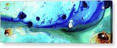 Abstract Art - Making Waves - Sharon Cummings Acrylic Print by Sharon Cummings