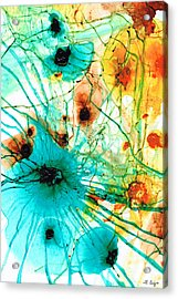 Abstract Art - Possibilities - Sharon Cummings Acrylic Print by Sharon Cummings
