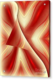 Abstract Art - The Truth About The Truth By Rgiada Acrylic Print