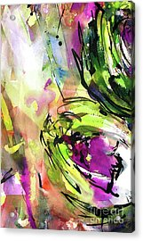Abstract Arti 3 By Ginette Acrylic Print