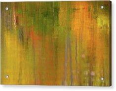 Minimalism Autumn  Acrylic Print