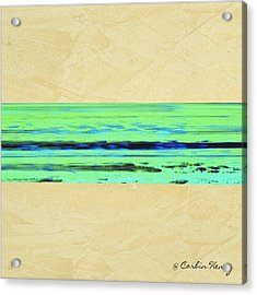 Abstract Beach Landscape  Acrylic Print