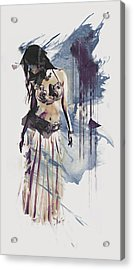 Abstract Bellydancer Acrylic Print