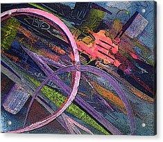 Abstract Blast Acrylic Print