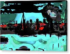 Abstract Bridge Of Lions Acrylic Print