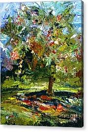 Abstract Cherry Tree  Acrylic Print