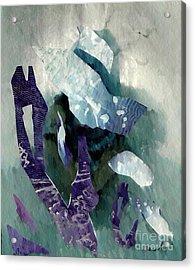 Abstract Construction Acrylic Print by Sarah Loft