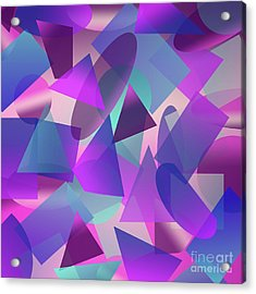 Abstract Cube II Acrylic Print
