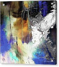 Abstract Dance Acrylic Print by Sadegh Aref