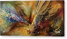 Abstract Design 108 Acrylic Print by Michael Lang