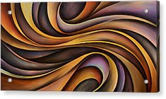 Abstract Design 31 Acrylic Print by Michael Lang