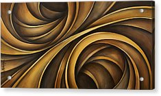 Abstract Design 34 Acrylic Print by Michael Lang