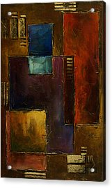 Abstract Design 65 Acrylic Print by Michael Lang