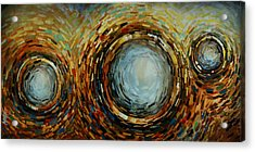 Abstract Design 68 Acrylic Print by Michael Lang