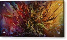 Abstract Design 74 Acrylic Print by Michael Lang