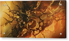 Abstract Design 75 Acrylic Print by Michael Lang