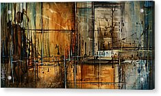 Abstract Design 76 Acrylic Print by Michael Lang