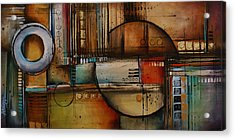 Abstract Design 77 Acrylic Print by Michael Lang
