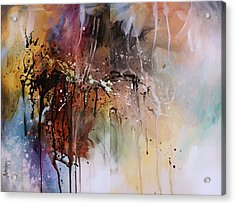 Abstract Design 80 Acrylic Print by Michael Lang