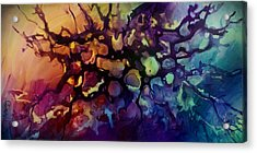 Abstract Design 83 Acrylic Print by Michael Lang