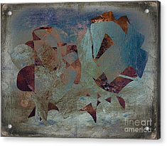 Abstract Expressionisem No.114 Acrylic Print by Roy Lindquist