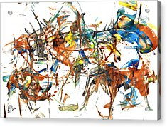 Acrylic Print featuring the painting Abstract Expressionism Painting Series 1041.050812 by Kris Haas
