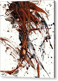 Abstract Expressionism Series 51.072110 Acrylic Print by Kris Haas
