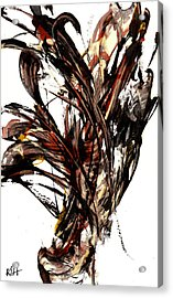 Abstract Expressionism Series 58.121210 Acrylic Print by Kris Haas