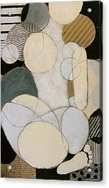 Abstract Female Back  Acrylic Print