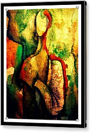 Abstract Figure # 3 Acrylic Print