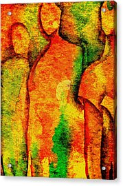 Abstract Figures Acrylic Print